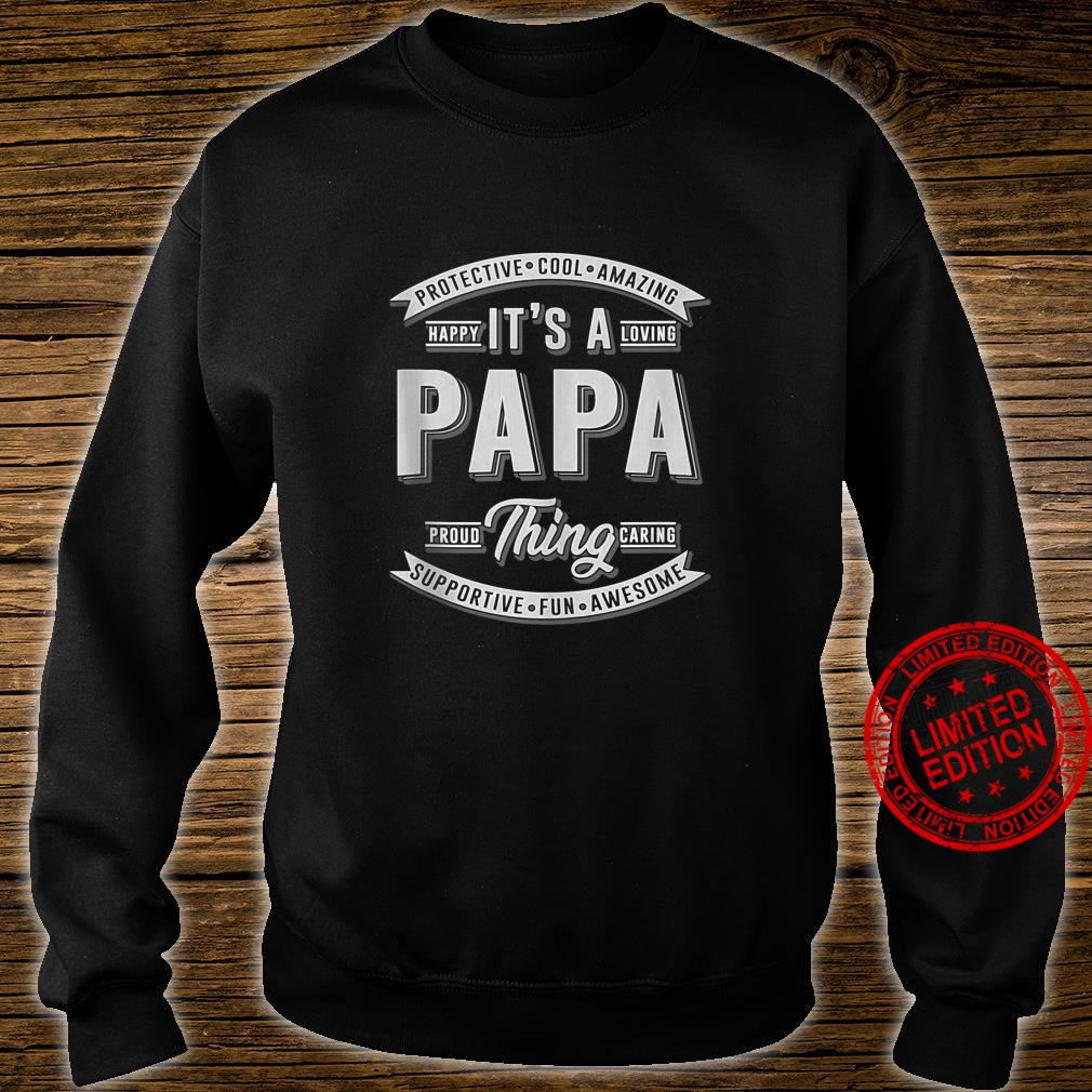FAMILY 365 Father's Day It's a Papa Thing Grandpa Shirt sweater