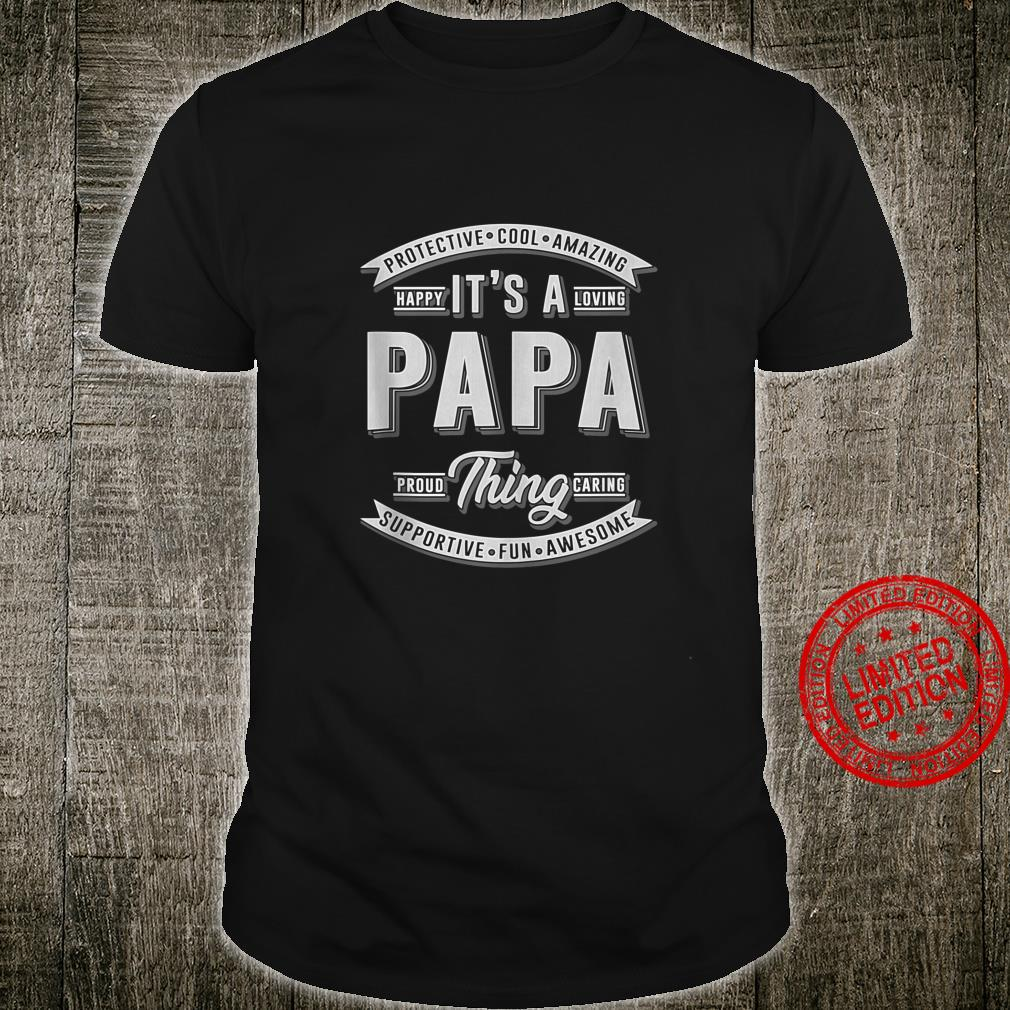 FAMILY 365 Father's Day It's a Papa Thing Grandpa Shirt