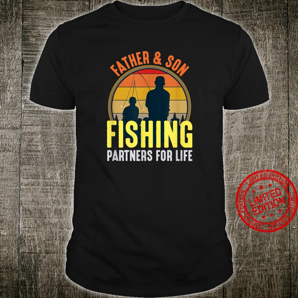 Fisherman for Dad and Son Fishing Partners For Life Shirt