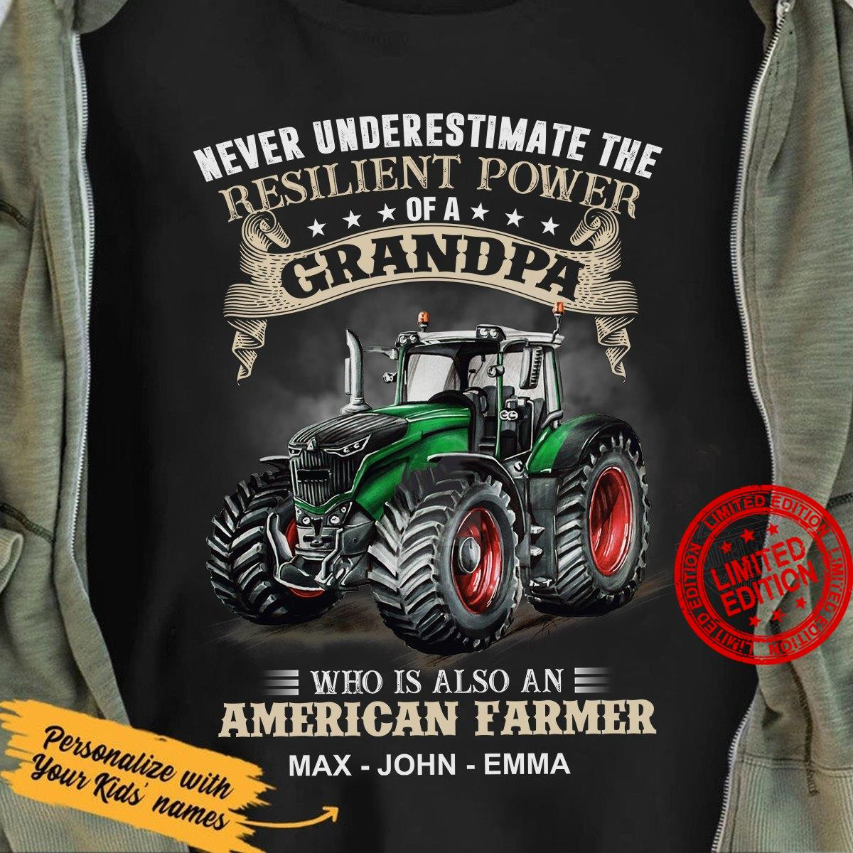 Never Underestimate The Resilient Power Of A Grandpa Shirt